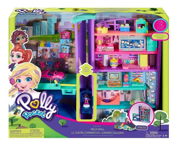 Polly Pocket Pollyville Mega Centro Comercial Mattel Gfp89
