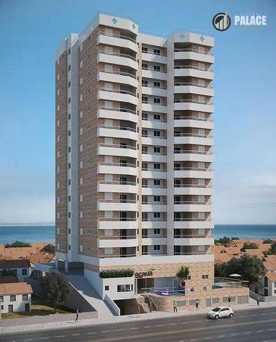 Imagem 1 de 22 de Apartamento Com 1 Dormitório À Venda, 57 M² Por R$ 283.718,00 - Aviação - Praia Grande/sp - Ap2869