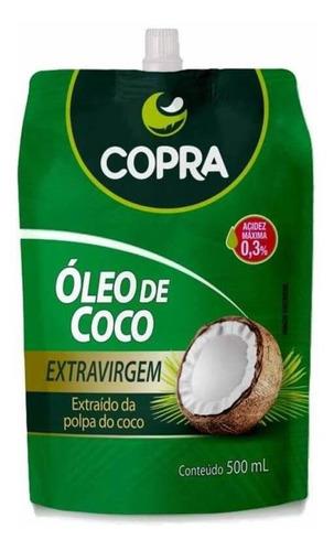 Imagem 1 de 1 de Copra Óleo De Coco Extra Virgem Sachê 500ml