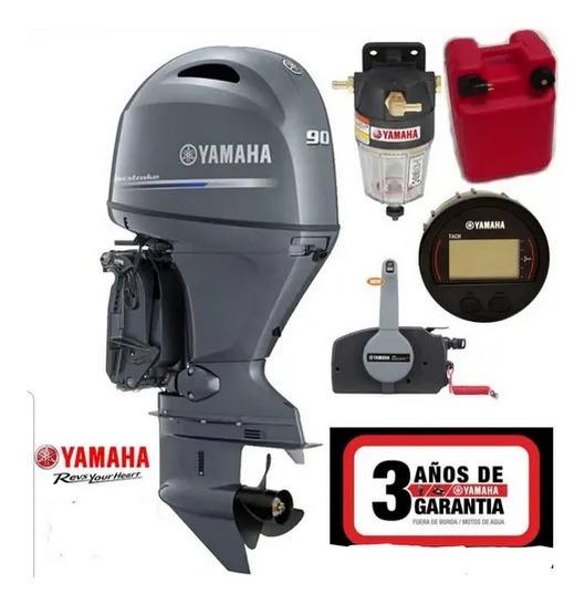 Motor Yamaha 4t 90 Hp, Nuevo A Instalar, Dolar Tarjeta
