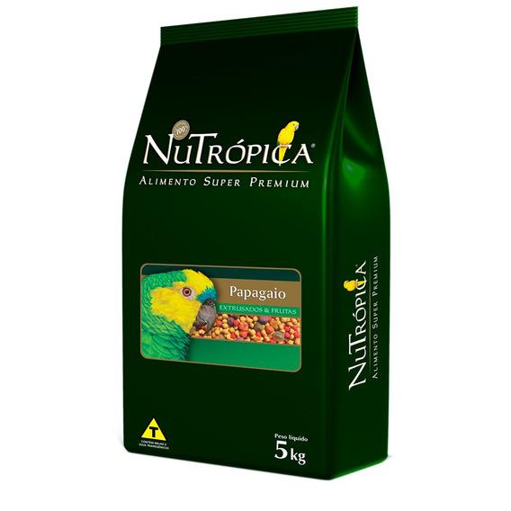 Ração Nutrópica Para Papagaio Sabor Frutas - 5kg