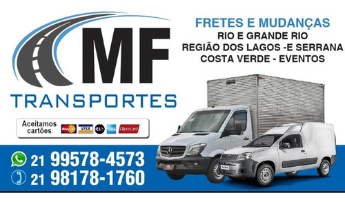 Imagem 1 de 1 de Fretes E Mudanças Rio E Grande Rio.