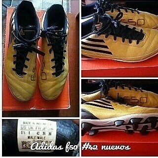 Tacos adidas F50 Numero 8 1/2 (42)