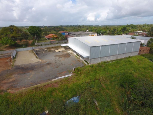 Galpão Para Aluguel, Centro Industrial De Aratu - Simões Filho/ba - 496