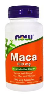 Maca Peruana(libido) 100cps 500mg Now Foods - Promoção!!!