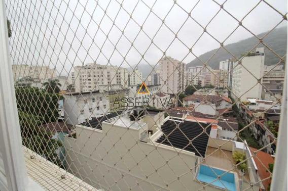 Apartamento Em Rua Bucólica Para Venda Ou Locação No Humaitá - Flap20303