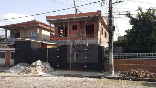 Imagem 1 de 1 de Casa À Venda, 50 M² Por R$ 240.000,00 - Catiapoã - São Vicente/sp - Ca1806