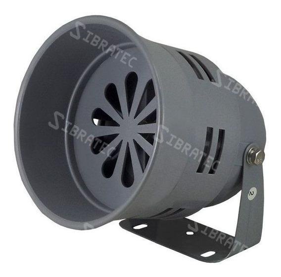 Sirene Industrial Sonora Motorizada 110db 220v - Ø12,8cm