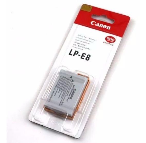 Bateria Lp-e8 P/ Canon T2i T3i T5i Kiss X4 X5 Pronta Entrega