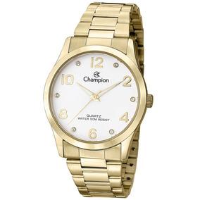 Relógio Champion Feminino Cn29052h Dourado