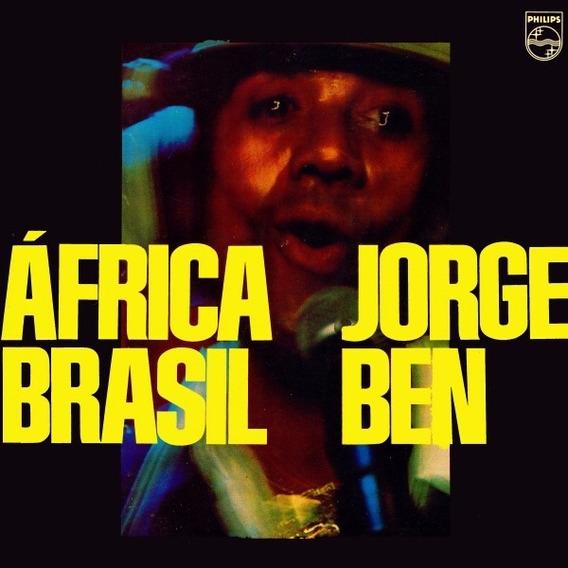 Lp Jorge Ben - África Brasil | Novo - Lacrado - 180 Gramas