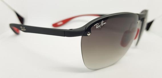Óculos De Sol Scuderia Ferrari Collection Rb4302 Degradê