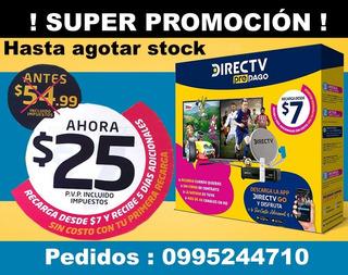 Kit Directv Hd Prepago Envio A Todo El Pais