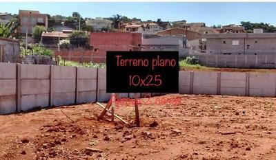 Terreno À Venda, 250 M² Por R$ 200 Mil - Jardim Maristela - Atibaia/sp - Te0610