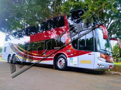 Marcopolo Paradiso 1800 Dd G6 Ano 2008 Scania K 380  Ref 649