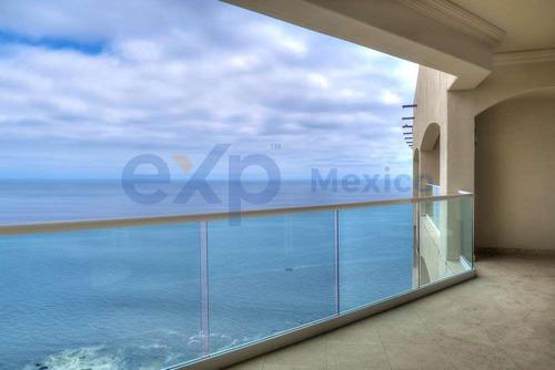 Imagen 1 de 14 de Moderno Penthouse Frente Al Mar En El Hermoso Desarrollo De Las Olas