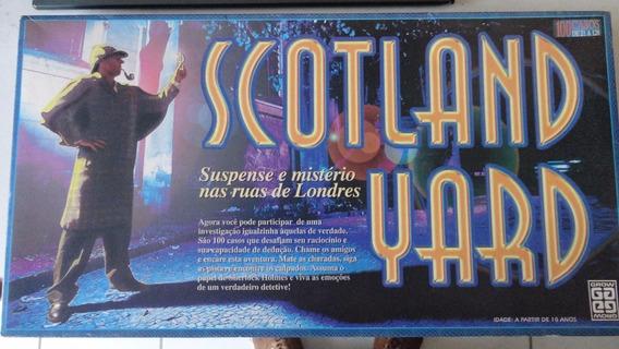 Jogo Scotland Yard Da Grow 100 Casos Completo Com Manual