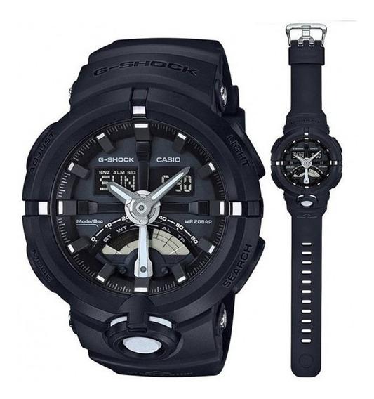 Relógio De Pulso G-shock Modelo Ga-500-1a Á Prova D