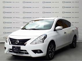 Nissan Versa 2018 Exclusive Navi A/t A/c 1.6l Blanco (94)