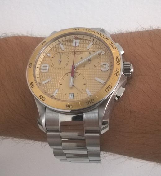 Relógio Victorinox Chrono Com Nota Fiscal Frete Grátis