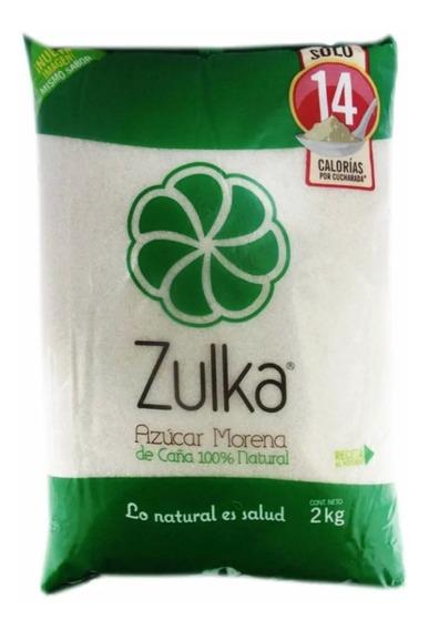 Azúcar Zulka Morena Empacada De 2 Kilos