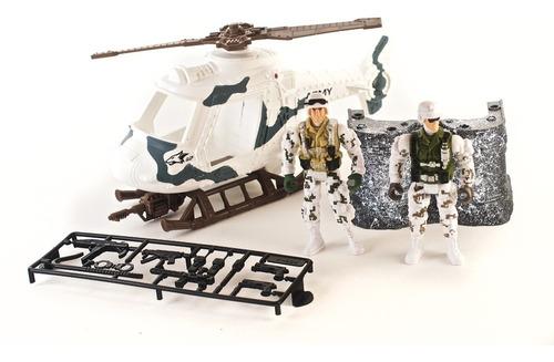 Playset Militar Taskn Force Soldaditos 14 Piezas Original