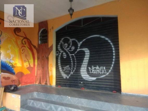 Salão Para Alugar, 45 M² Por R$ 1.100,00/mês - Parque Capuava - Santo André/sp - Sl0876