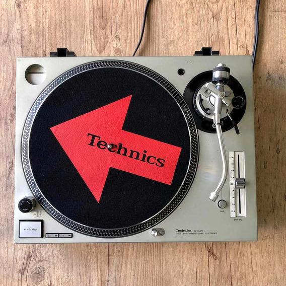 Toca-disco Technics Mk5 (japonesa) + Case E-light Marathon
