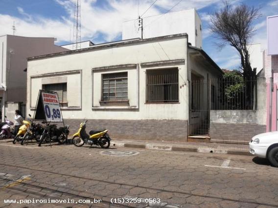 Casa Para Venda Em Tatuí, Centro, 3 Dormitórios, 1 Banheiro - 081