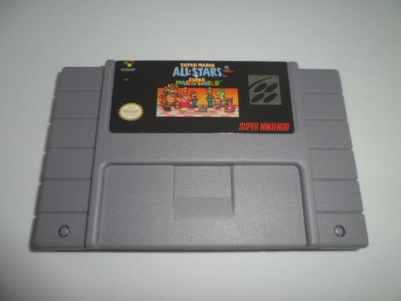 Super Mario Allstar Super Mario Super Nintendo Fita 2 Jogos