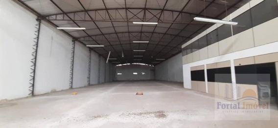 Galpão Para Alugar, 1200 M², Anel Viário, Br116 Com Doca. Fortaleza-ce - Ga0124