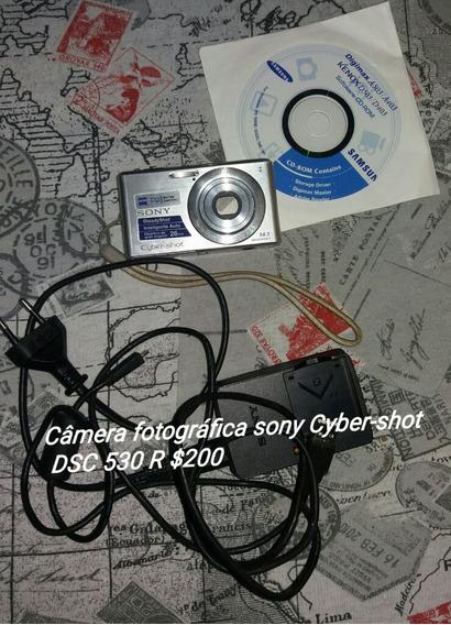 Câmera Sony Dsc-w 530 14 Mp Panorâmica