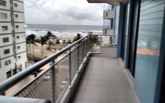 Apartamento 3 Dormitórios Vista Mar Para Locação Na Tupi Em Praia Grande