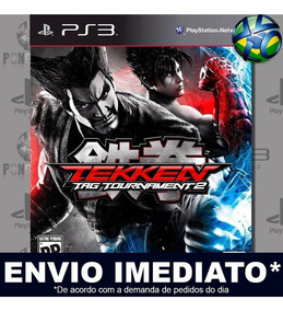 Tekken Tag Tournament 2 Ps3 Mídia Digital Psn Promoção