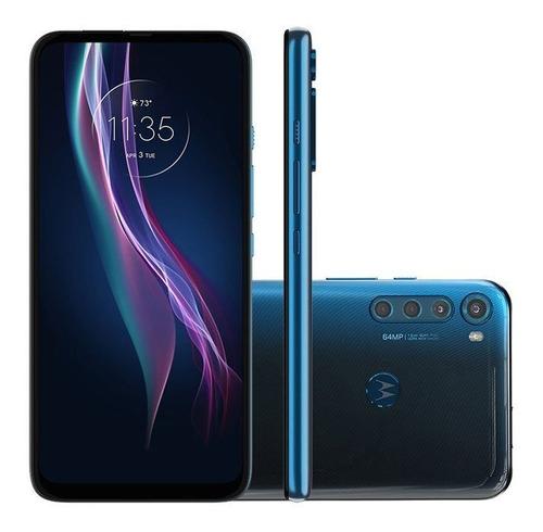 Smartphone Motorola One Fusion Plus 128gb Tela 6.5 Polegadas
