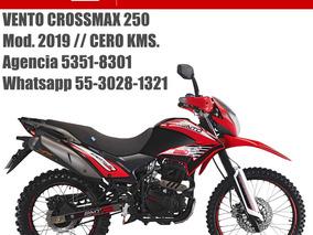 Vento Crossmax Cross 2019 Nueva 0kms Placas Y Casco Gratis