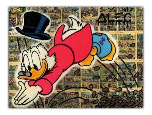 Poster Grafite 60x80cm Arte Urbana Alec Monopoly #7 Decorar