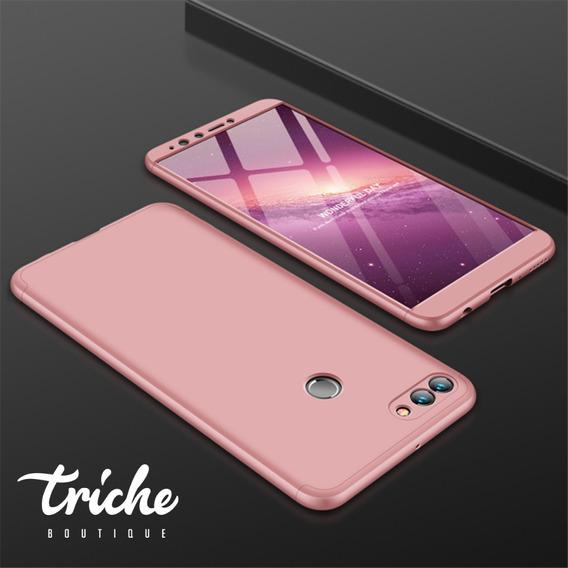 Funda 360 + Cristal Slim Colores Seria Huawei Y7 2018