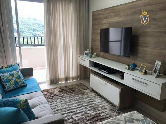 Residencial Montebianco Apartamento Com 2 Dormitórios À Venda Por R$ 370.000 - Jardim Carlos Gomes - Jundiaí/sp - Ap1371