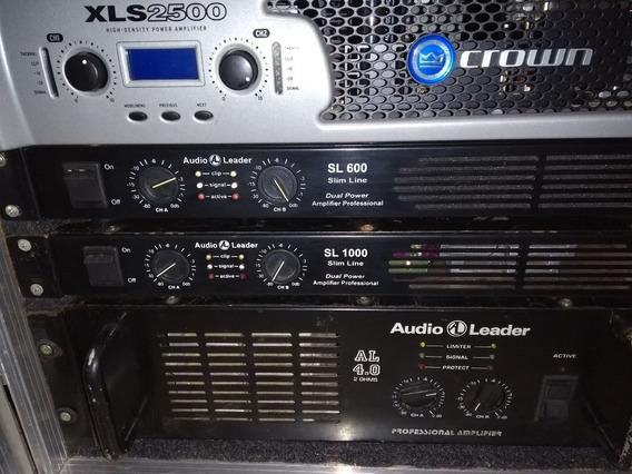 Potencia Amplificador Áudio Leader Al 4.0 4000wrms 2ohms