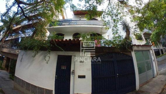 Casa Com 3 Quartos, 300 M² Por R$ 3.300.000 - Jardim Botânico - Rio De Janeiro/rj - Ca0099