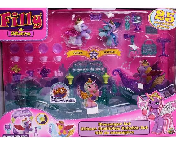 Unicornios Mascotas Pony Filly Stars Kit De Mensajes Playset