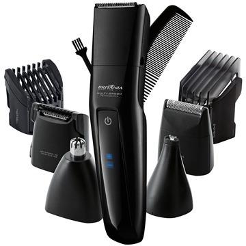 Maquina Cortar Cabelo Pelos Barba Bateria Recarregavel 7x1