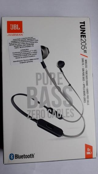 Fone De Ouvido Bluetooth Jbl 205 Bt (leia A Descrição)