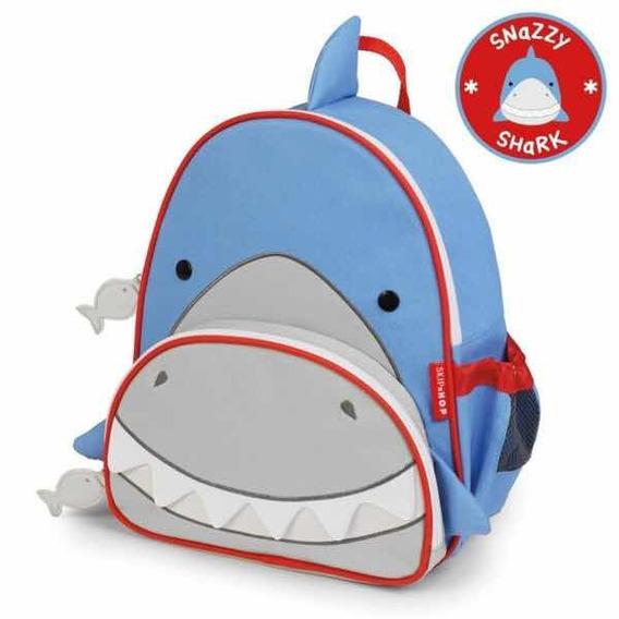 Mochila Ship Hop - Zoo Pack - Tubarão -snazzy Shark - 16sh