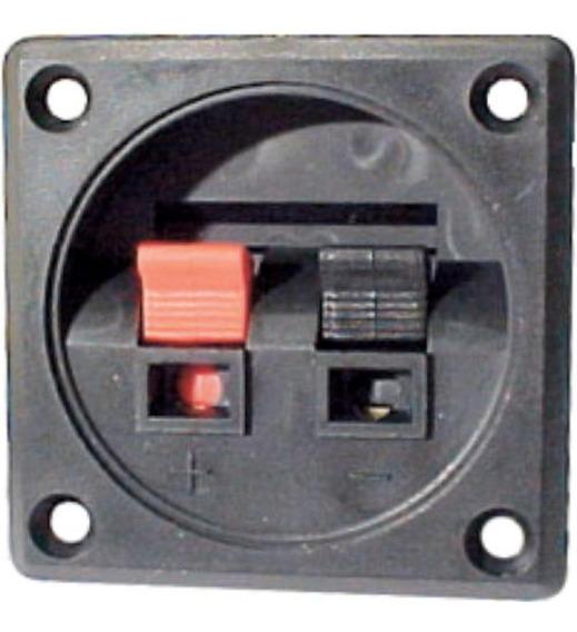 Conector Para Caixa De Som (borne) - Quadrado - Ludovico