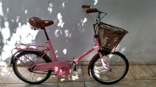 Bicicleta Plegable - Vintage - Rodado 20