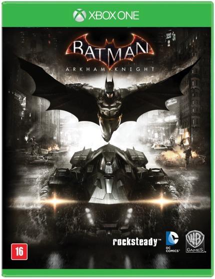 Game Xbox One Batman Arkham Knight Mídia Física/ Novo