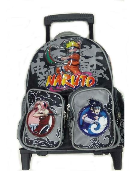 Mochila Con Carro Naruto 28 L Amo A Mis Juguetes