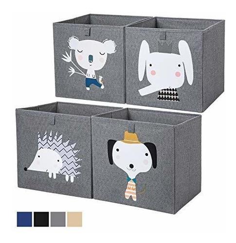 Imagen 1 de 2 de Axhop Cubos De Almacenamiento Lavables, Cajas De Almacenamie